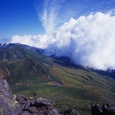 羅臼山頂から硫黄山