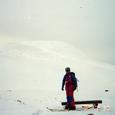 冬の焼石岳