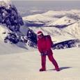 岩手山鬼ケ城雪壁登攀