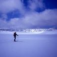 八幡平の雪原