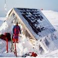 3月白神山頂避難小屋