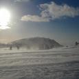 地吹雪の仙人岱