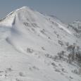 三ツ岳の斜面